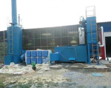 云南镀锌厂废气处理方法酸洗车间废气异