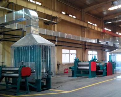 橡胶传送带生产废气处理设备案例